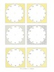 Yellow and Grey Chalkboard Editable Classroom Decor