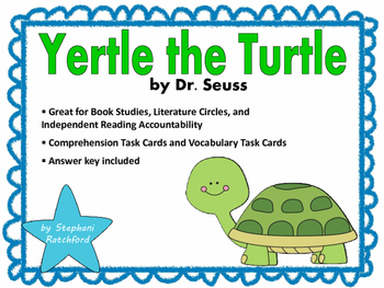 Yertle the Turtle by Dr. Seuss Comprehension and Vocabular