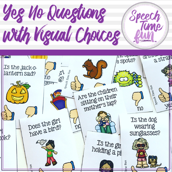 Yes and No Questions With Visual Choices