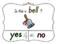 Yes No Questions with Visuals ~ Letter B Sound / Sight Rec
