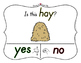 Yes No Questions with Visuals ~ Letter H Sound / Sight Rec