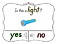 Yes No Questions with Visuals ~ Letter L Sound / Sight Rec
