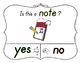 Yes No Questions with Visuals ~ Letter N Sound / Sight Rec