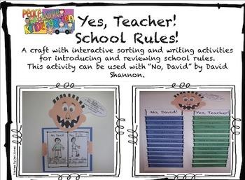 Yes, Teacher!  School Rules!