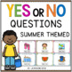 Yes or No Question Cards (Closed Questions) Growing Bundle