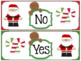 Yes No Question Cards (Closed Questions) for Christmas