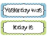 Yesterday, Today, & Tomorrow (Brights & Polka Dota