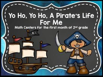 Yo Ho, Yo Ho, A Pirate's Life For Me Math Centers - Sept 2