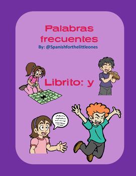Yo + acciones - Librito de palabras frecuentes - HFW books