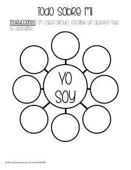 Yo soy Bubble Map {FREEBIE}