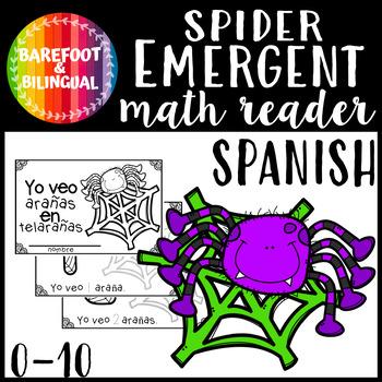 Yo veo arañas en telarañas- a 0-10 counting book!