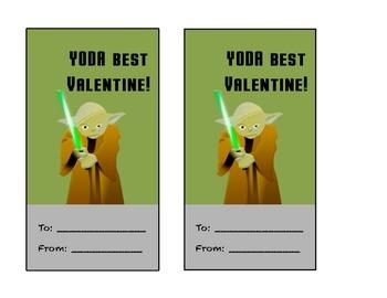 Yoda Best Valentine (Star Wars)