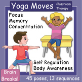 Yoga: Visual Cue Cards for the Classroom, Therapy, or Self