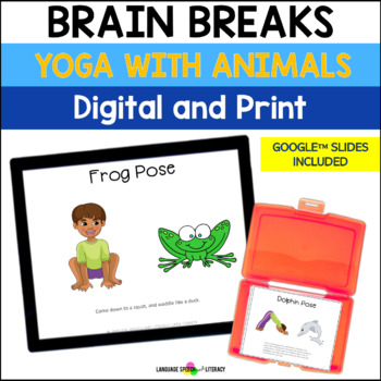 Yoga Poses With Animals for Kids 1 - Great For Brain Break