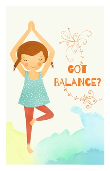 Yoga Poster - Got Balance