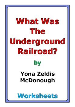 "Yona Zeldis McDonough ""What Was the Underground Railroad?"""