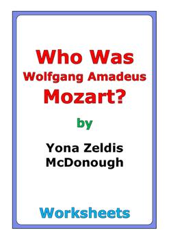 "Yona Zeldis McDonough ""Who Was Wolfgang Amadeus Mozart?"" w"