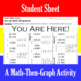 You Are Here! - 30 Linear Systems & Coordinate Graphing Activity