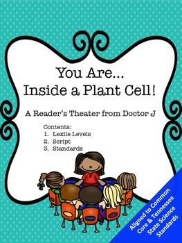 You Are Inside a Plant Cell 4th Grade Common Core Science