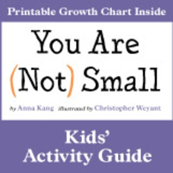 You Are (Not) Small Kids' Activity Guide
