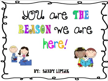 You Are The Reason Poster