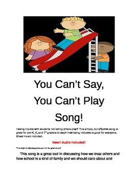 You Can't Say, You Can't Play Song!