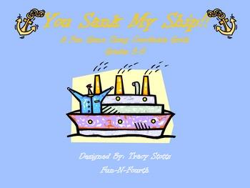 You Sank My Ship!!!  Plotting Points