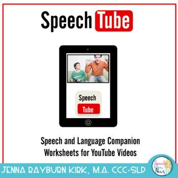 Speech Tube: A YouTube Speech & Language Companion Packet