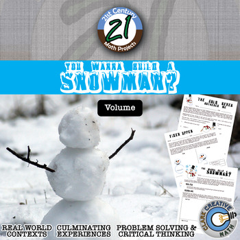 You Wanna Build a Snowman? -- Volume of a Sphere Project