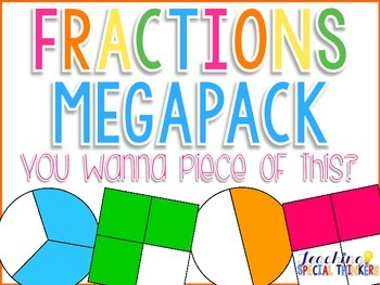 You Want A Piece of This? FRACTIONS MEGAPACK! {Common Core
