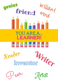 You are a learner classroom poster