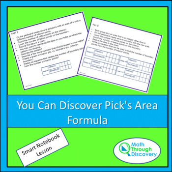 You Can Discover Pick's Area Formula