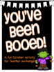 "You've Been ""Booed"" for Teacher Exchange"