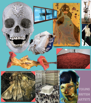 Young British Artists ~ Art History ~ Damien Hirst et al ~