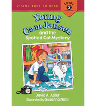 Young Cam Jansen and Spotted Cat Mystery Comprehension Packet