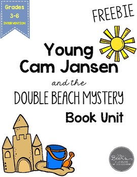 Young Cam Jansen and The Double Beach Mystery Book Unit FREEBIE