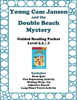 Young Cam Jansen and the Double Beach Mystery: Guided Read