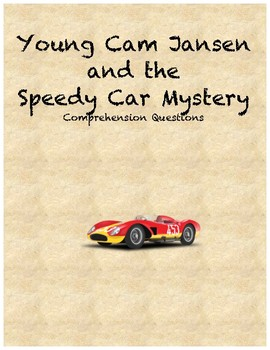Young Cam Jansen and the Speedy Car Mystery comprehension