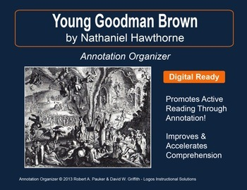 """Young Goodman Brown"" by Nathaniel Hawthorne: Annotation O"