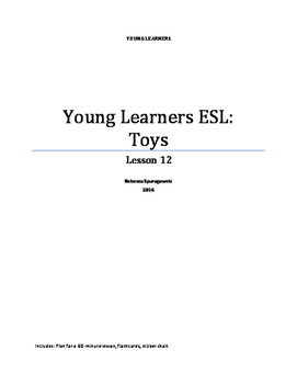 Young Learners ESL (Lesson 12) - Toys