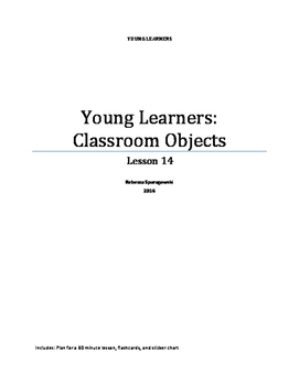 Young Learners ESL (Lesson 14) - Classroom Objects