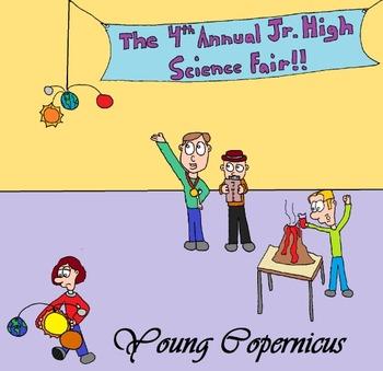 """Young Renaissance Thinkers"" Cartoons - Copernicus"