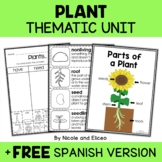 Thematic Plant Unit Activities
