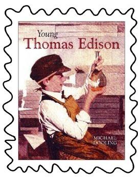 Young Thomas Edison Focus Wall