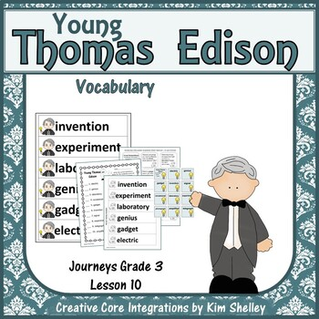 Young Thomas Edison Vocabulary