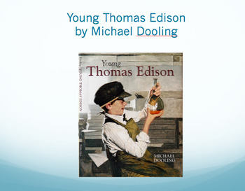 Young Thomas Edison Vocabulary, Journeys Lesson 10