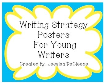 Young Writing Posters for Australia