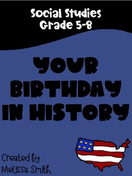 Your Birthday in History