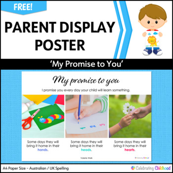Your Child Will Learn At School Poster