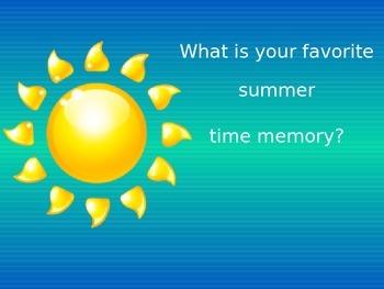 Your Favorite Summer Memory